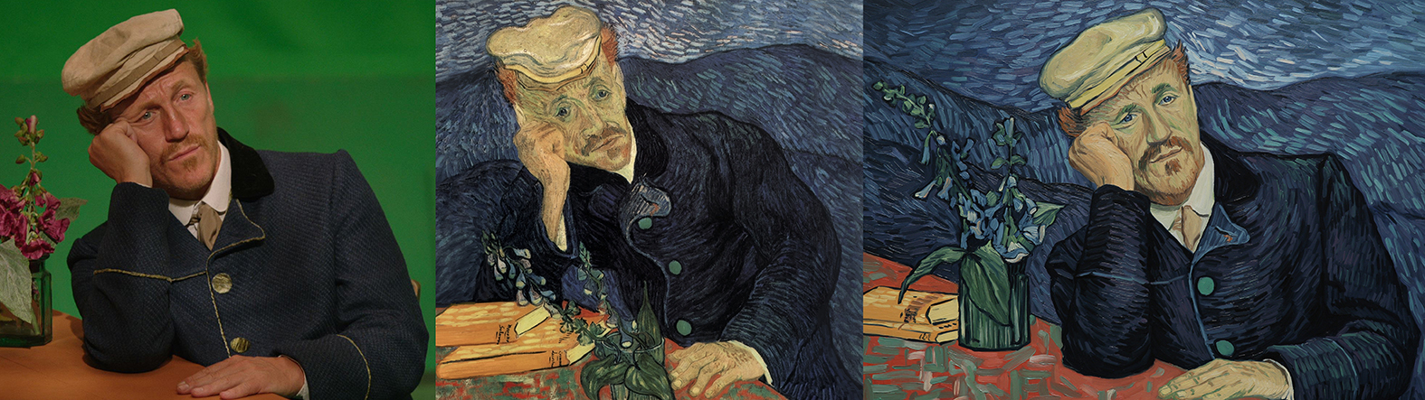 Actor Jerome Flynn Starred As Dr Gachet In The Reference Material Our  Painters Used To Create Loving Vincent.